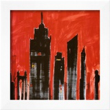 Red Cityscape