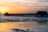 Naples Florida Pier at Sunset