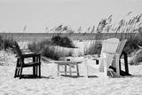 Four Chairs on the Beach - Florida Papier Photo par Philippe Hugonnard