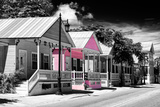 Key West Architecture - The Pink House - Florida