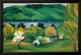 Lake George  Early Moonrise Spring  1930