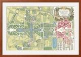 Plan du Parc  Versailles