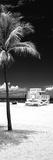 South Miami Beach Landscape with Life Guard Station - Florida - USA
