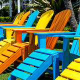 Chairs Color - Key West - Florida
