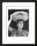 Woman in Tehuantepec  Mexico  1929