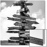 Destination Signs - Key West - Florida Acrylique par Philippe Hugonnard