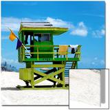 Life Guard Station - South Beach - Miami - Florida - United States
