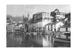 Port of Bastia in Corsica  1929