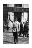 Traffic Policeman in Moscow  1927