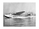 """Boeing 314 Clipper """"Yankee Clipper"""" beim Start  1939"""