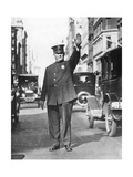 Traffic Policeman in the USA  1935
