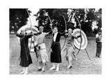 Bogenschützinnen beim Training im Ranelagh Club in London  1933