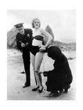 Peggy Graves am Strand  1933