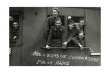 French Prisoners of War on their Return to France  1942