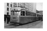 Tram in Moscow  1939