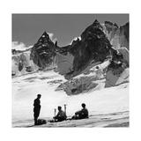 Bergsteiger in der Schweiz  1939