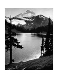 Chain Lake and Mount Baker  1931