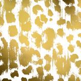 Gold Nairobi Square I (gold foil)