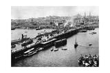 Galata Bridge in Istanbul  1941