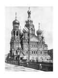 Auferstehungskirche in Sankt Petersburg  1910er Jahre