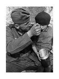 Deutscher Soldat im Sudetenland  1938