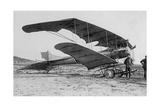 """Der """"Mars"""" Pfeil-Doppeldecker der DFW auf der Berliner Flugwoche  1913"""