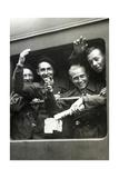 """Mitglieder der """"Jeunes du Maréchal"""" auf dem Weg nach Deutschland  1943"""