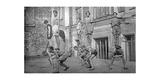 Schauspieler der Meyerhold-Bühne in Moskau  1920er Jahre