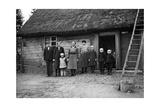Bauernfamilie in Pommerellen  1939