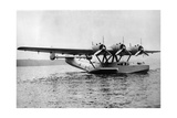 Flying Boat Dornier Do 24 Near Friedrichshafen  1937