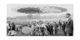"""Rickman präsentiert seinen """"Schraubenflieger"""" in den USA  1909"""