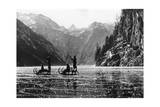 Koenigssee with Frozen Surface  1939