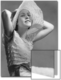 Hutmode für Damen  1934