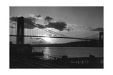 George Washington Bridge  New York City  1933
