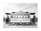 Elektrische Straßenbahn in München  um 1895