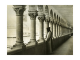 Cloister of the Monastery Notre-Dame De Lérins in France  1933