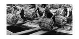 Hafenarbeiter in Tokio  1930er Jahre