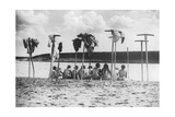 Russische Frauen am Fluss  1930er Jahre
