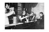 An der Bar  20er Jahre