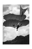 Flying Machine Built by Otto Lilienthal in Germany  1900