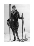 Fashion for Female Skiers  1930