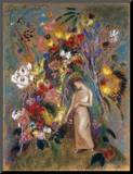 Woman in Flowers  1904