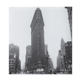 Flatiron Building in Rain