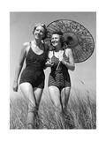 Frauen mit Sonnenschirm  1939