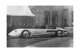 "Streamlined Race Car ""Silver Bullet"" in England  1930"