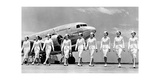 Stewardesses of Trans World Airlines  1938