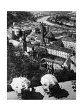 Panoramic Image of Salzburg  1921
