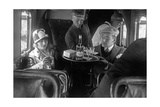 A Member of the Lufthansa Air Crew with Passengers  1926