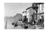 Gandria on Lake Lugano  1929