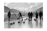 Curling in Davos  1920S